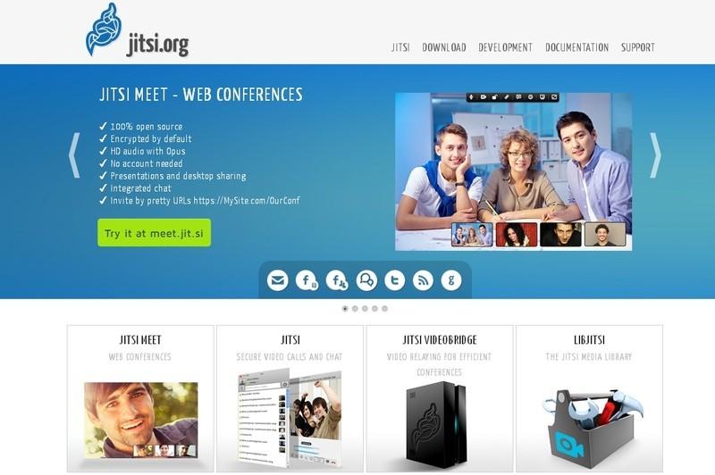 jitsi бесплатные вебинары видеоконференции