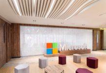 Офисное пространство: офис Microsoft в Боготе