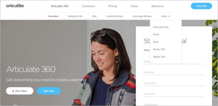 Articulate 360 — редактор для любых задач электронного обучения