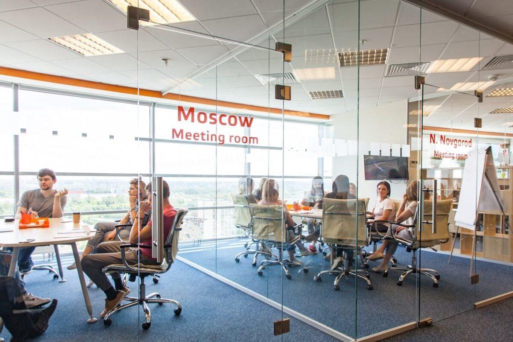 """Комфортный офис. Кейс от компании """"Биглион"""". Переговорные комнаты"""