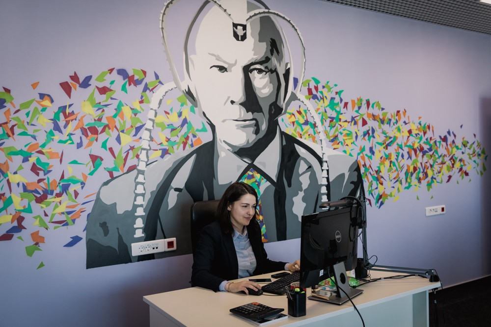 """Комфортный офис в стиле """"граффити"""". Кейс компании Penenza.ru"""