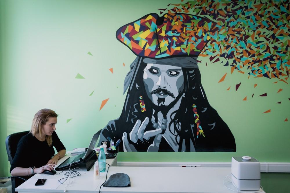 """Комфортный офис в стили """"граффити"""". Кейс компании Penenza"""