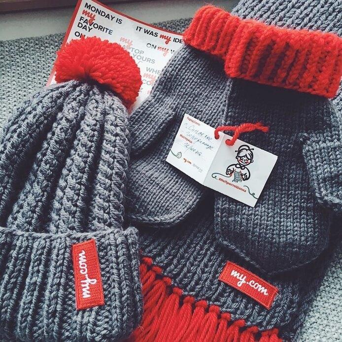 Теплые подарки сотрудникам от Mail.Ru Group