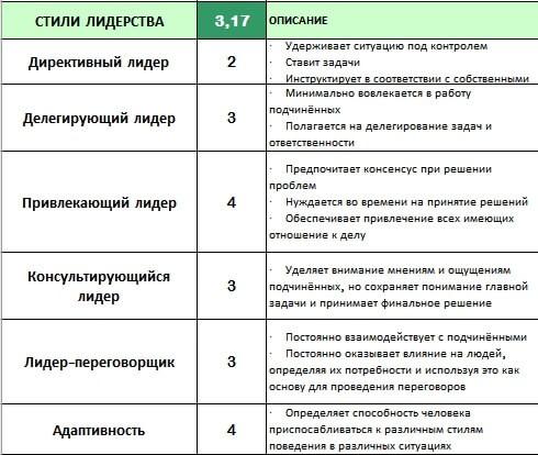Оценочное интервью (Performance Appraisal), ориентированное на развитие. Стили лидерства