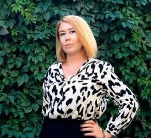 Оксана Нашильник, выпускница школы бизнеса SKOLKOVO, руководитель проекта Messagebiz.