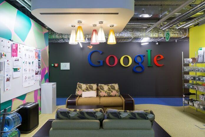 лаунж-зона в компании Google