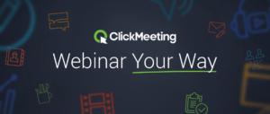 Вебинары на вебинарной платформе Clickmeeting