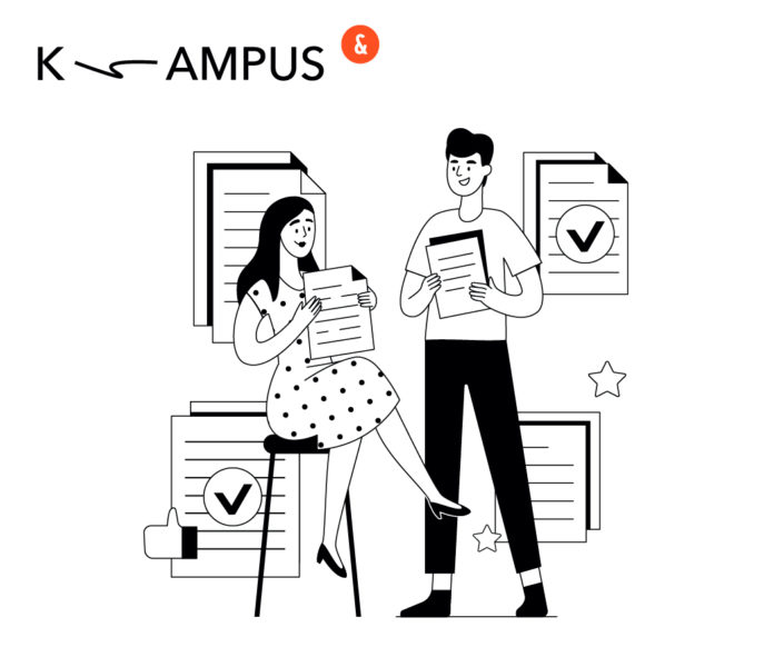 обучения с помощью LXP-платформы K-AMPUS